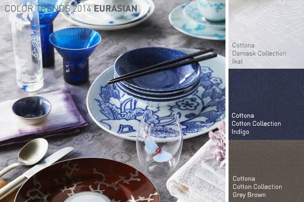 Cottona blog - Kleurinspiratie tafel dekken Eurasian