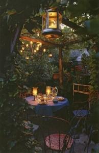 ...of een intiem diner bij kaarslicht...