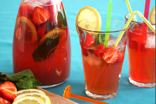 Cottona blog - recept ice tea