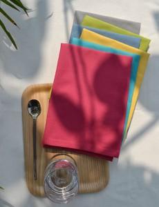 servetten zomer kleuren katoencollectie