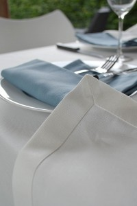 tafellaken buiten wit rijst schilderijzoom