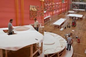 Cottona Hermitage tafels dekken tentoonstelling