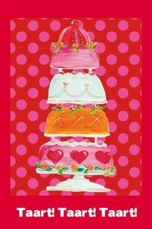 taart uitnodiging In de sfeer van Heel Holland Bakt Tien tips voor een feestje met  taart uitnodiging