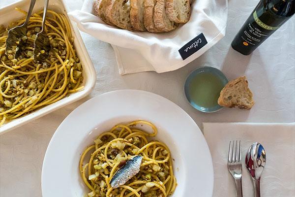 Recept pasta con le Sarde Cottona blog