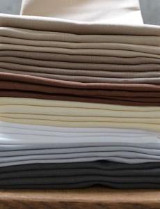 linnen servetten overzicht van alle kleuren