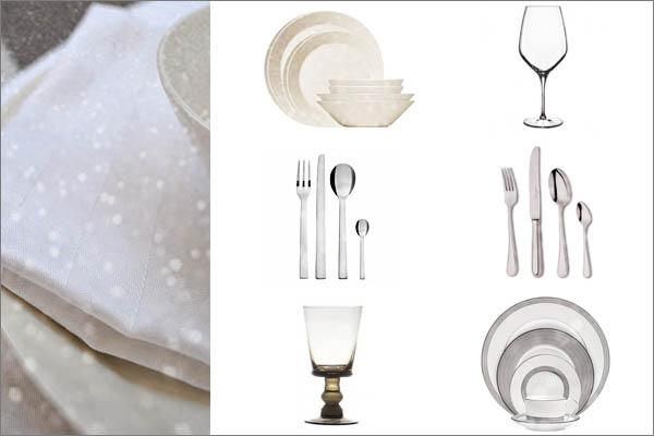 tafel dekken serviesgoed december