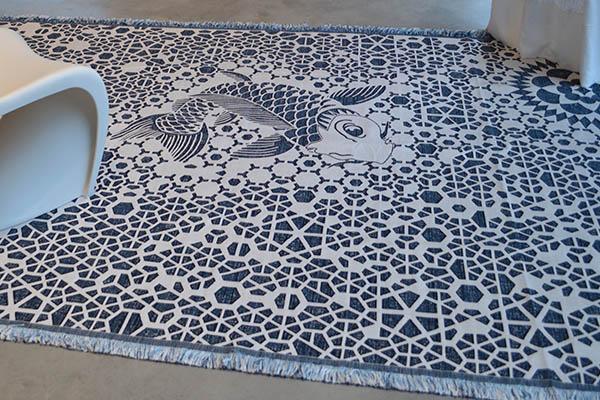Passie voor textiel vloerkleden van edward van vliet for Beumers interieur