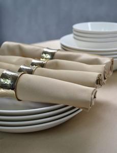 servetten servetringen goud
