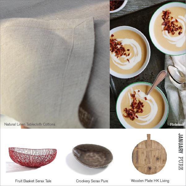tafeldecoratie winter styling linnen Cottona blog