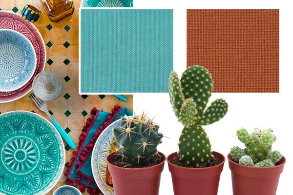 zomers tafeltextiel Marrakech Cottona