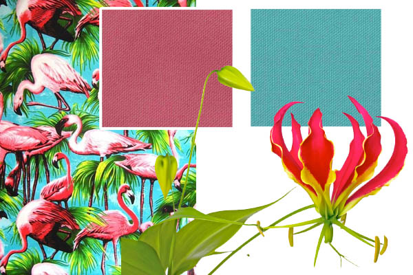 zomers tafeltextiel Miami Cottona