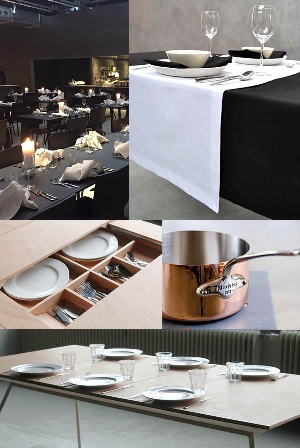 Zwart wit interieur inspiratie van de dutch design week for Interieur zwart wit