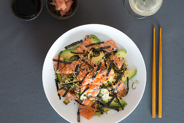 cottona - 13 juni - food sushi beeld