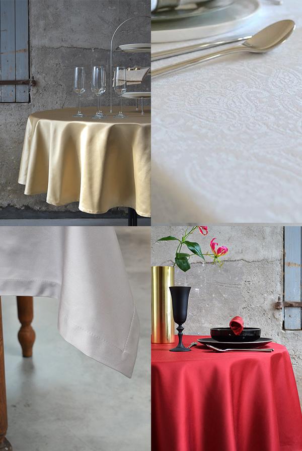 Cottona tafelkleed op maat voor de feestdagen