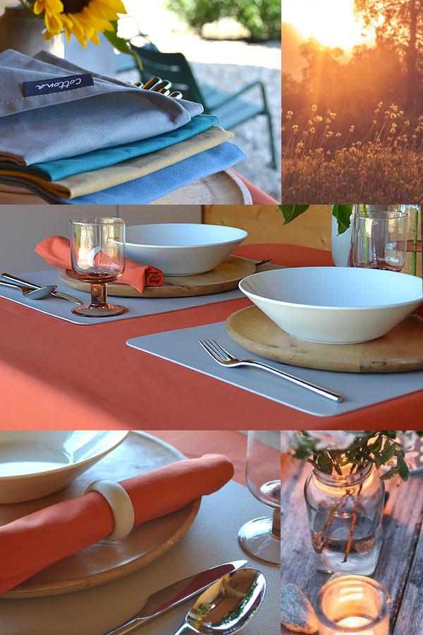 Tafelstyling buiten; mooi tafelen met deze zomerse tafelstyling