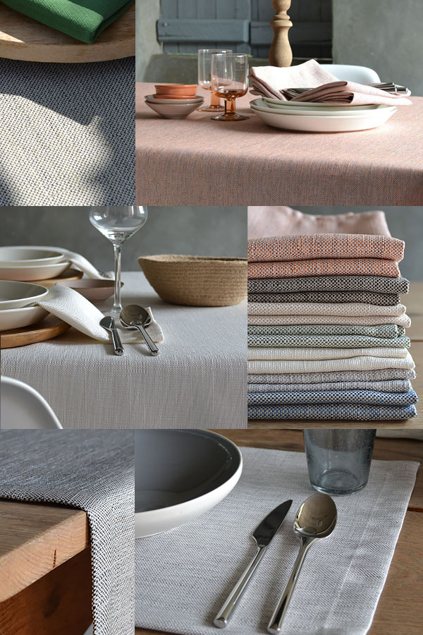 linnenlook polyester tafelkleed
