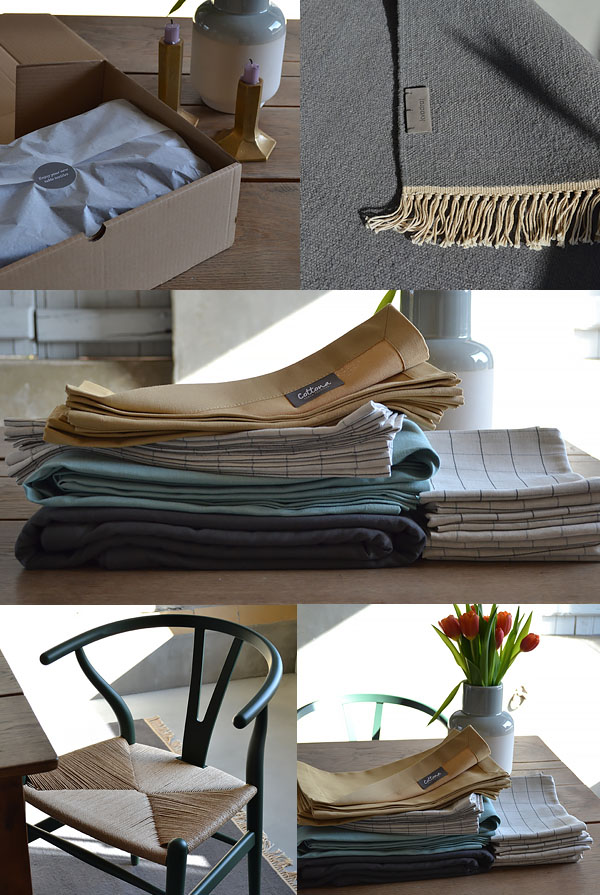 tafellinnen shoppen Cottona Table Textiles tafellaken placemats linnen